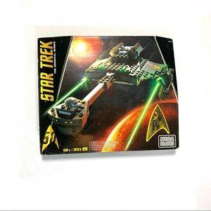 Star Trek Mega Bloks Klingon D7 Battle Cruiser NIB